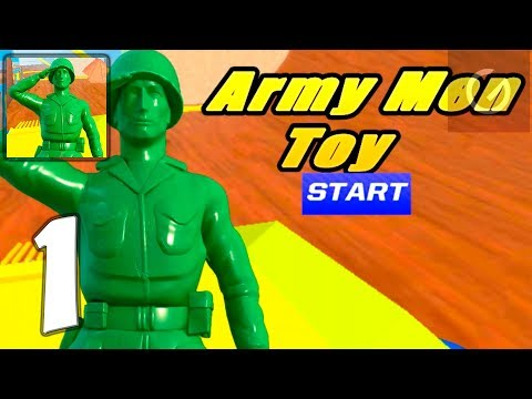 Army Men Toy Squad Survival War Shooting - Mobile Gameplay Walkthrough Part 1 (iOS, Android)
