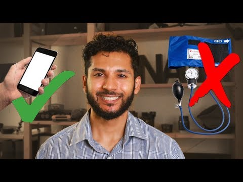 Measure blood pressure with a smartphone camera! New diagnostic technology research