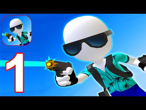 Gun Master 3D - Gameplay Part 1 All Levels 1 - 11 (Android, iOS) #1