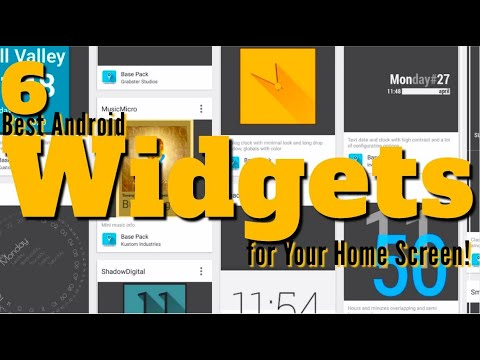 6 Best Android Widgets for Your Home Screen!