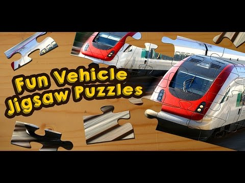 video review of Cars, Trucks, & Trains Jigsaw Puzzles Game 🏎️