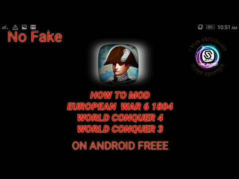 how to make your own mod on european war 6 wc4 wc3 on android no root