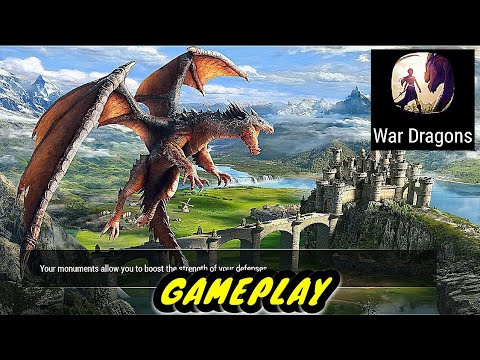 War dragons android/ios gameplay (2018)