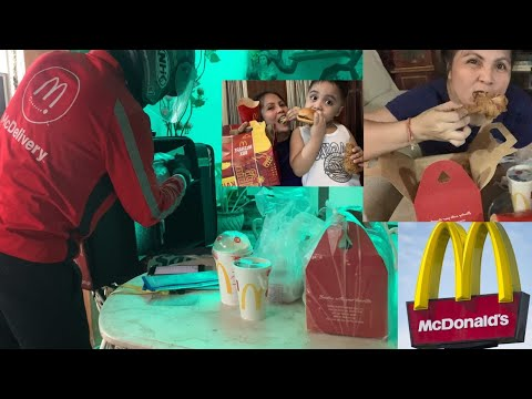 MCDONALD'S STA ANA DELIVERY EXPERIENCE | HOW I ORDER AT MCDONALD'S MCDELIVERY MOBILE  APP