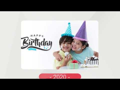 video review of Birthday Photo Frames