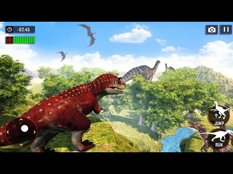 Dino Family Simulator Games - Android Gameplay