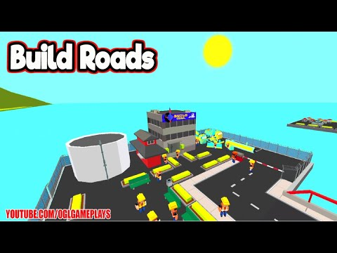 Build Roads (By Rollic Games) Gameplay Level 1-15 Android iOS