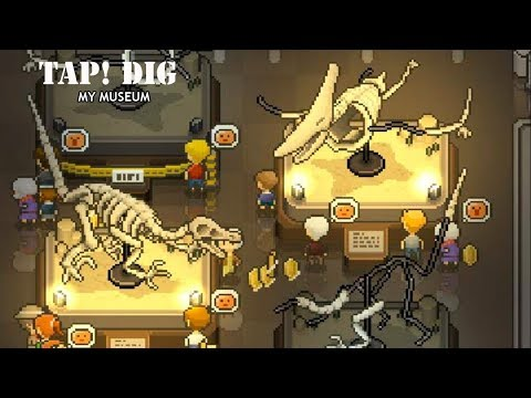 TAP! DIG! MY MUSEUM  - Android/iOS Gameplay (HD)