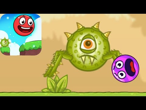 Bounce Ball 5 - Jump Ball Hero Adventure - Levels 1-20 (Android, iOS)