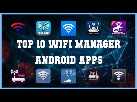 Top 10 WIFI Manager Android App   Review