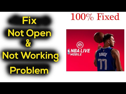 NBA Live Mobile Basketball App Not Working / Not Open Problem in Android