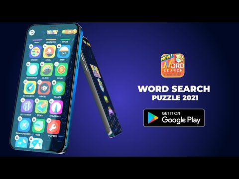 Word Search Puzzle 2021 Mobile| android apps