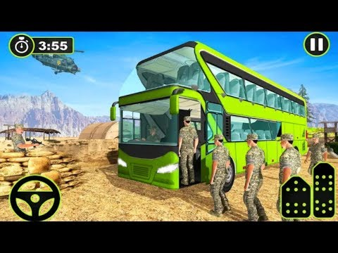 Army Bus Driver US Military Coach Simulator 3D | Real Army Bus Simulator Android play