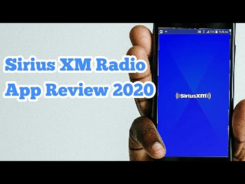 Sirius XM Radio App Review