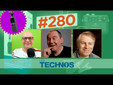 MacBook Air, Antidote, DJI Pocket 2, Zoom F2, Play Suisse, Big Sur,... [Les Technos | Podcast #280]