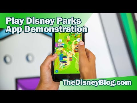 How to use the Play Disney Parks Mobile App