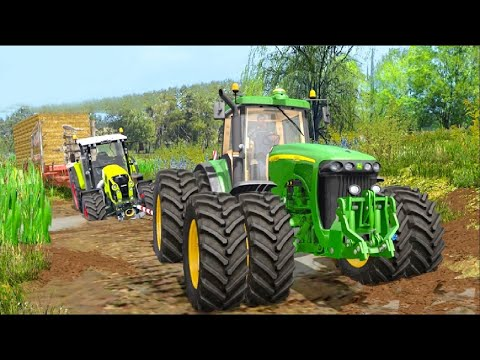 Tractor Pull & Farming Duty Game 2019 - Android GamePlay