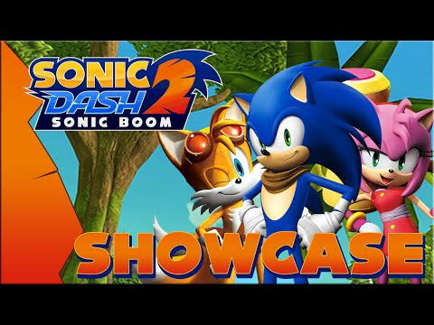 Sonic Dash 2: Sonic Boom [Android / Version 0.1.0] - Gameplay & Character Showcase