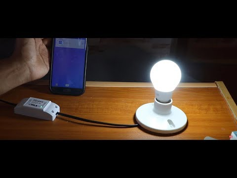 Remotely Switch ON/OFF LIGHTS with your Phone - Home Automation!
