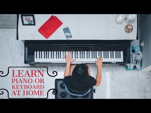 The Easiest and Most Effective Way To Learn Piano or Keyboard From Home