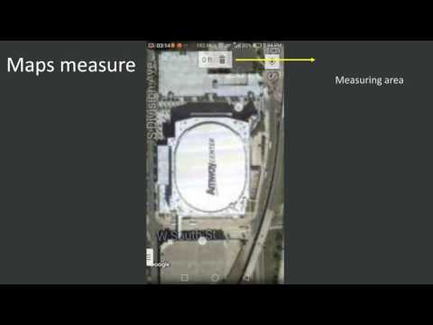 Maps measure -  Android  App