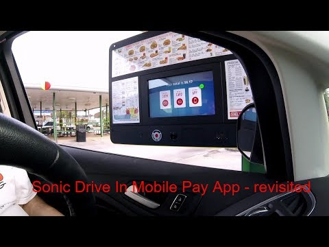 Sonic Drive In Mobile Pay App Revisited