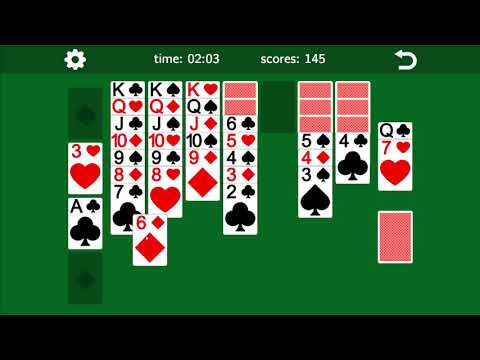 CLASSIC SOLITAIRE KLONDIKE (Android/iOS) - Simple and challenging game for smartphones