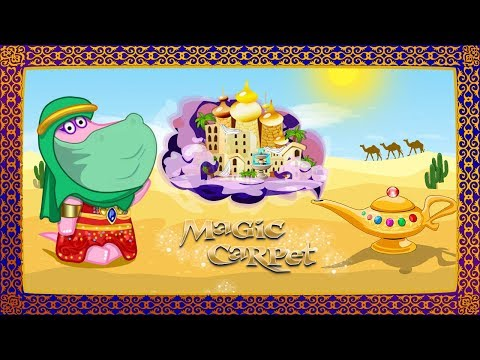 video review of Aladdin's adventures. Magic lamp