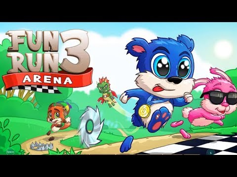 Fun Run 3 - Multiplayer Games - iOS/Android Gameplay Video