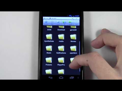 How To Use A File Manager/Explorer On Android