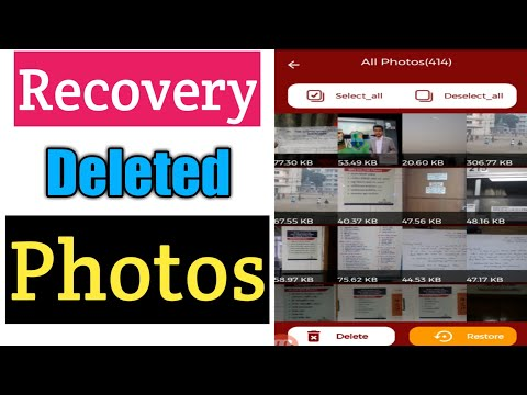 Recovery Deleted Photos For Android | Deleted Photo Recovery