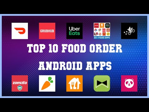 Top 10 Food Order Android App | Review