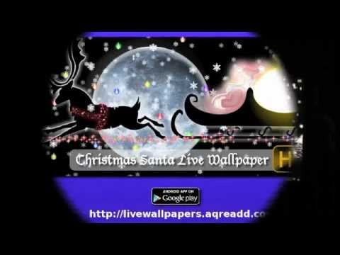 video review of Christmas Live Wallpaper