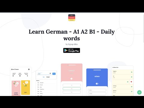 Learn German - Android App