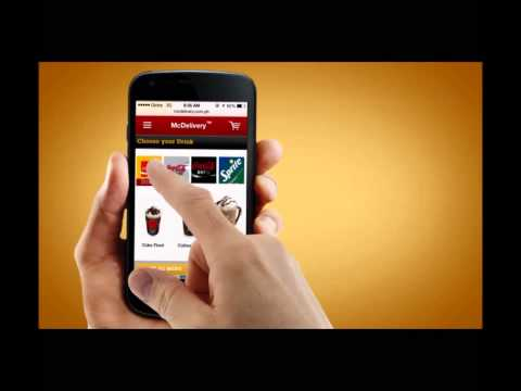 McDelivery Mobile   - case study