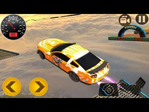 Impossible Stunt Car Track 3D - Best Mobile Games - Android Mobile GamePlay