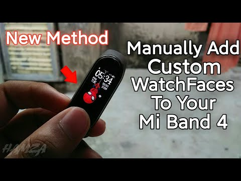 Manually add WatchFaces to your Mi Band 4 Easily Without Harming Your Device/Mi Band 4