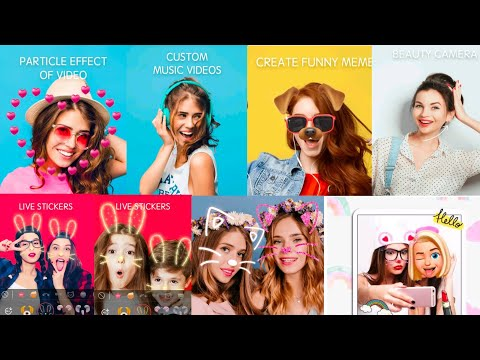 Sweet Snap Face Cam - Selfie Edit & Photo Filters || Camera App 2021 || How To Use FX