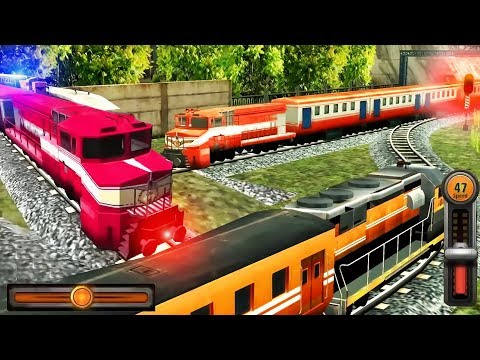 Train Racing Games 3D 2 Player - Railway Station Train Simulator - Android GamePlay