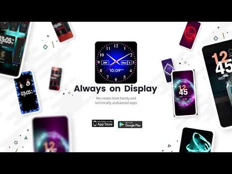 video review of Always on Display