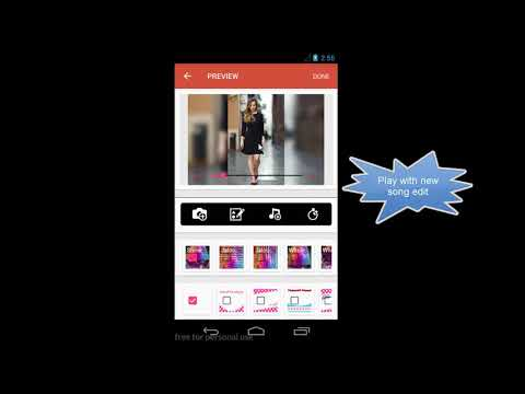 [Android] Video Maker Of Photos With Song