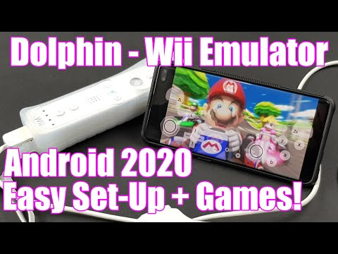 Dolphin - Wii Emulator - Android 2020 - Easy Set Up   Games!