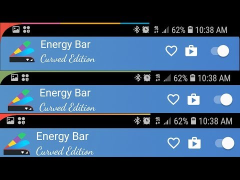 Energy Bar For Android Gives You Battery Level Customization No Root Needed (S8 / S9 / Note 8 Mods)
