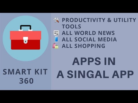 Smart Kit 360 App |all in one android app| |must download android app|