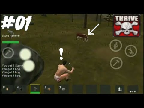 ThriveX Survival -Battlegrounds Royale Android Gameplay #01