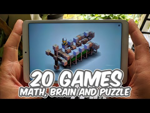 Top 20 Best Games for Android & iOS Math, Brain and Logic edition 2020 May