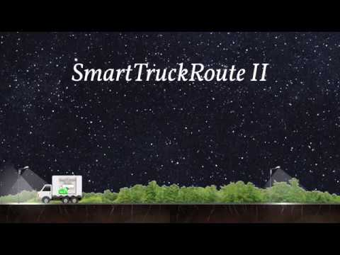 video review of SmartTruckRoute2 Truck GPS Routes and Navigation