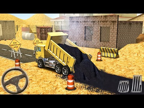City Construction Road Builder 3D Vehicles - Construction Simulator - Android GamePlay #2