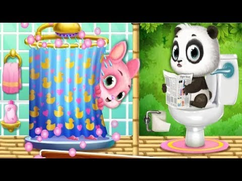 Panda Lu and Friends Build Treehouse Part 1 - Build Treehouse With Cute Pets - Android GamePlay FHD