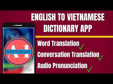English To Vietnamese Dictionary App | English to Vietnamese Translation App